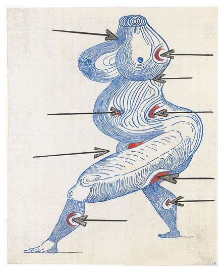 Louise Bourgeois, 'Ste. Sébastienne', 1998