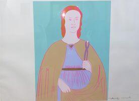 Andy Warhol, 'Saint Apollonia -unique-', 1984