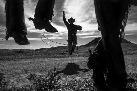 Hannes Schmid, 'Roping In', 2000