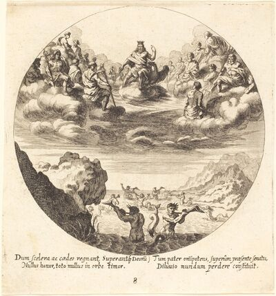 Georg Andreas Wolfgang, the Elder, 'Jove and the Gods', 1665