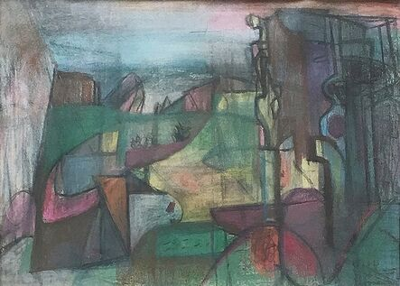 Morris Shulman, 'View Toward Gull Point (Monhegan)', 1948