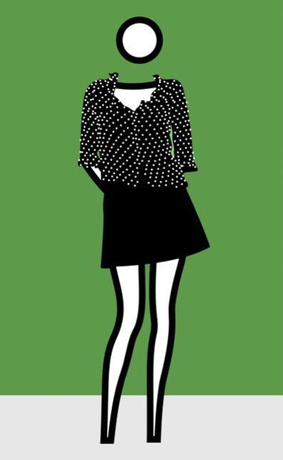 Julian Opie, 'Woman dressed 4', 2002