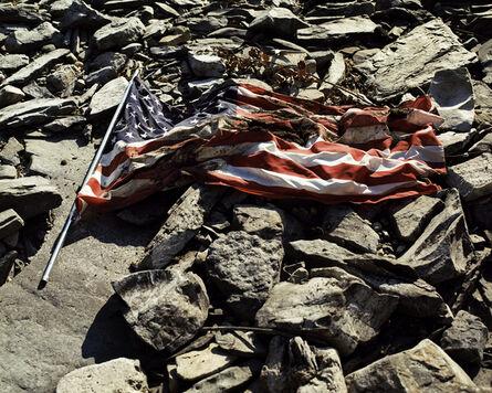 LM Chabot, 'American Flag, Plattsburgh, NY', 2010