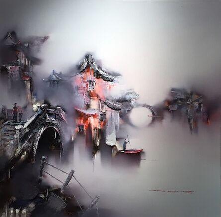 Gao Xiao Yun 高小云, '烟花三月 Misty Cloud ', 2017