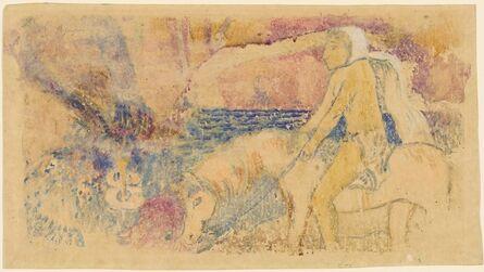 Paul Gauguin, 'The Pony', ca. 1902