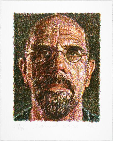 Chuck Close, 'Self-Portrait (Lincoln Center)', 2007