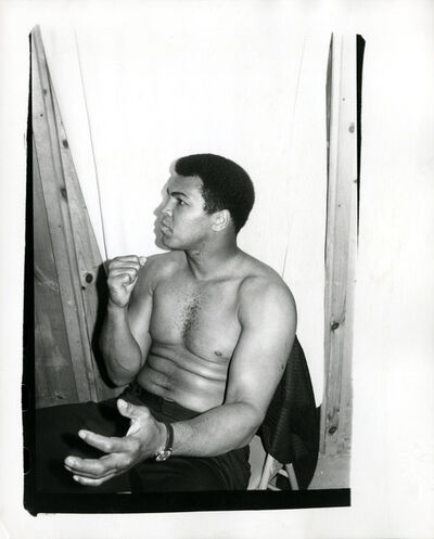 Andy Warhol, 'Andy Warhol, Photograph of Muhammad Ali, 1977', 1977