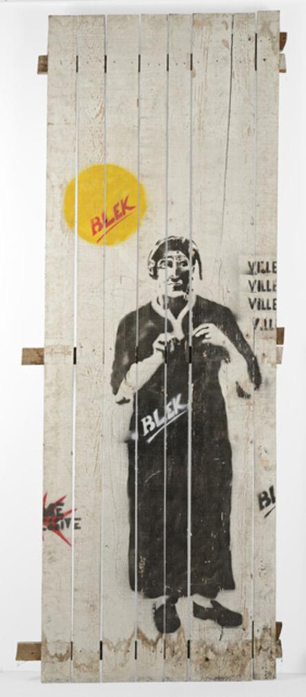 Blek le Rat, 'The Greek Woman', 1984