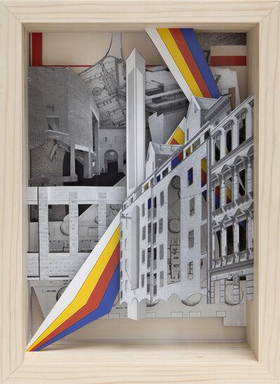 Claudia Larcher, 'Serie Baumeister »Baumeister 7, Juli 1987 - Ergänzungen in der Stadt« ', 2015