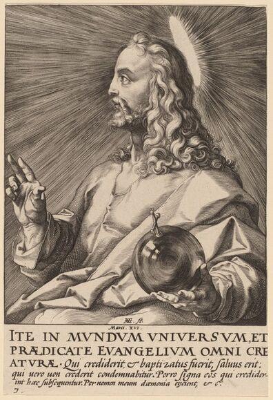 Hendrik Goltzius, 'Christ', probably 1589