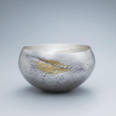 Osumi Yukie, 'Silver Vase Kaikei (Seascape)', 2019