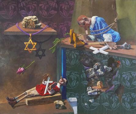 Don Manfredi, 'Addio Pinocchio n. 4 (Goodbye Pinocchio n. 4)', 1990-1999