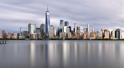 Andrew Prokos, 'Lower Manhattan and World Trade Center Skyline - Long-Exposure', 2020