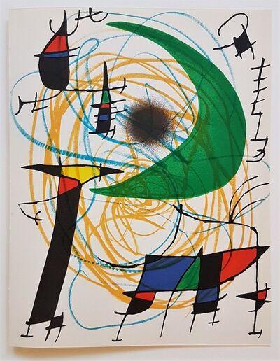 Joan Miró, 'Litografia Original V', 1975