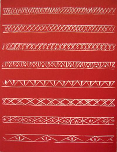 Henri Matisse, 'Bandeaux en Rouge (Variant I)', 1981