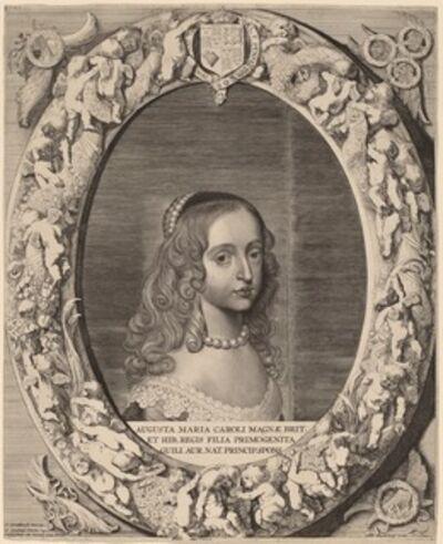 Jonas Suyderhoff after Gerrit van Honthorst, 'Mary I Stuart', 1643