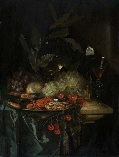 Pieter de Ring, 'Still Life with Crayfish', ca. 1655
