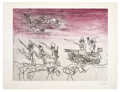 Roberto Matta, 'Judgements: Blitz', 1967