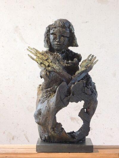Dietrich Klinge, 'Fragment 7tomoé (Autokatalyse VIII, Hambacherin)', 2019/2020