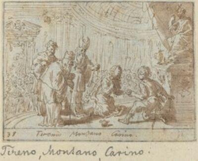 Johann Wilhelm Baur, 'Tirenio, Montano and Carino', 1640