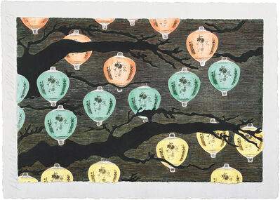 Donald Sultan, 'Hanging Lanterns', 2008
