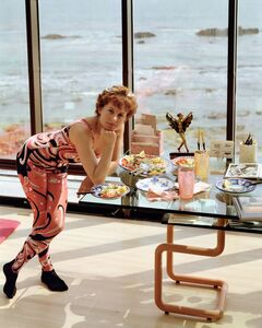 Joel Sternfeld, 'A Woman at Home in Malibu After Exercising, California, August 1988', 1988