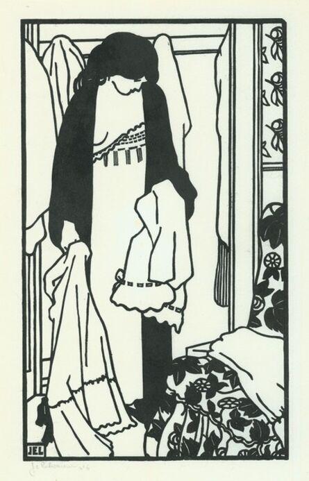 Jean-Emile Laboureur, 'Toilettes: Le Linge', 1907