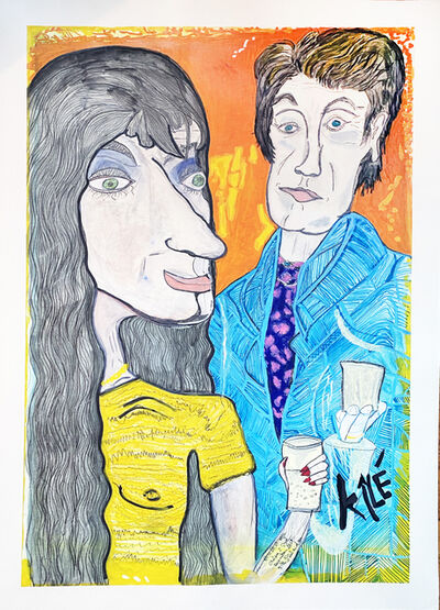 Gilles Andre Chalandon, 'Chelsea and Syd', 2018