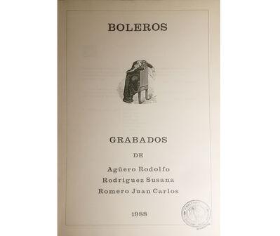 Juan Carlos Romero, 'Boleros', 1988