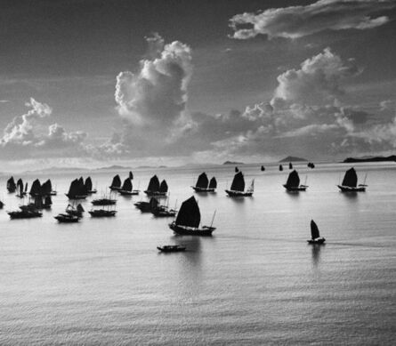 Werner Bischof, 'Harbour of Kowloon, Hong Kong, China ', 1952