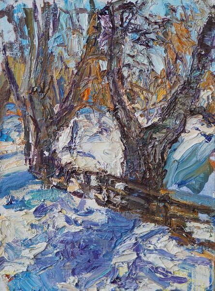 Ulrich Gleiter, 'Small Winter Scene'