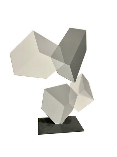 Rafael Barrios, 'Malabarismo lineal (greys)', 2018