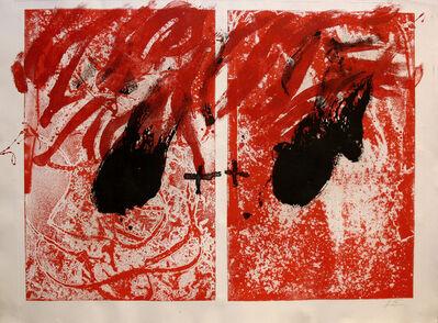 Antoni Tàpies, 'Feu II', 1981