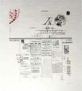 William Dole, 'Orazione Original Print by William Dole', 1971