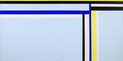 Ilya Bolotowsky, 'Blue Horizontal', 1975