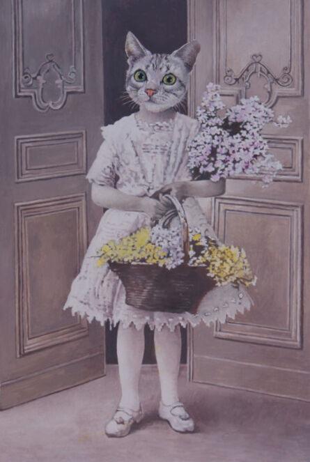 Malcolm Bucknall, 'Miss Kitty Was a Flower Child', 2016