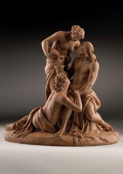 Joseph Nollekens, 'A 'Pensiero' of Lot and his Daughters', 1803