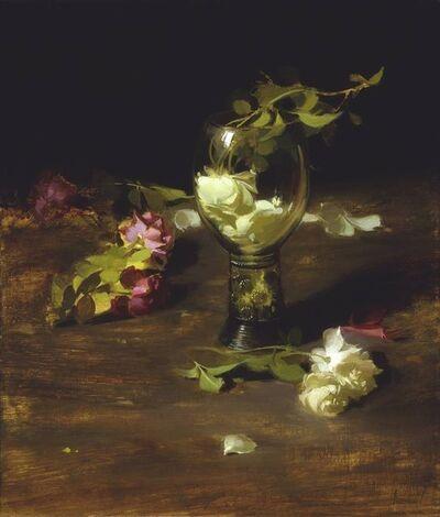 Sherrie McGraw, 'Roses in a Dutch Glass', 2017