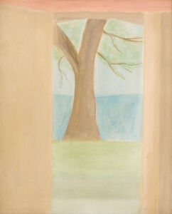 Craigie Aitchison, 'Tree at Oppedette', 1973