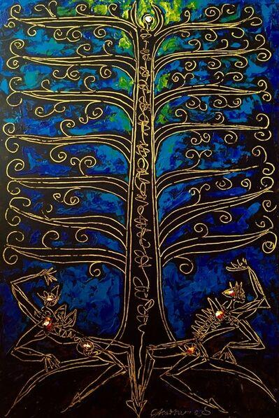 Ekatherina S, 'Tree of Life Blue'
