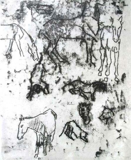Paul Gauguin, 'Studies of Horses', 1901/2