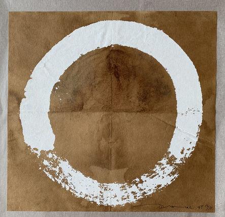 Takashi Murakami, 'Coffee Zen Enso: White', 2020