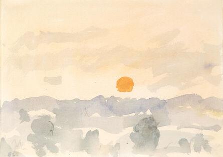 Eugene Leake, 'Morning, Orange Sun', ca. 1995