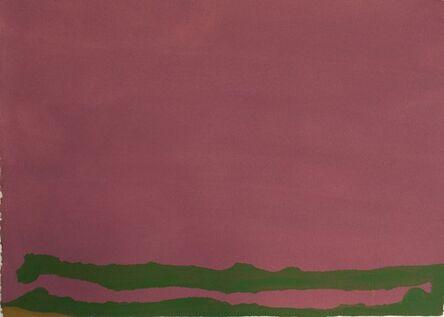 Helen Frankenthaler, 'Green Likes Mauve', 1970