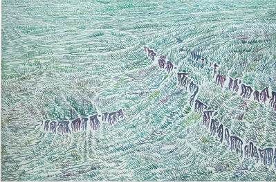 Jun Xue, 'Rift-5', 2017