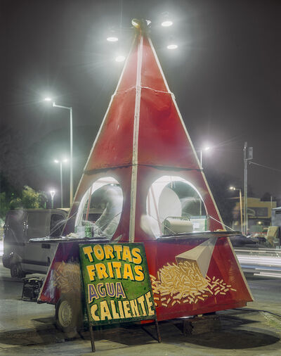 Jim Dow, 'Pyramid Carrito Selling French Fries, Costanera, Parana, Entre Rios Province, Argentina', 2012
