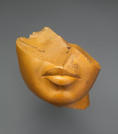 Unknown Egyptian, 'Fragment of a Queen's Face', ca. 1353–1336 B.C.