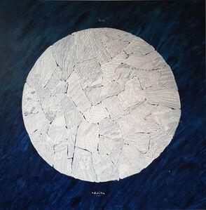 Ugo La Pietra, 'Luna - La nuova territorialità ', 2009