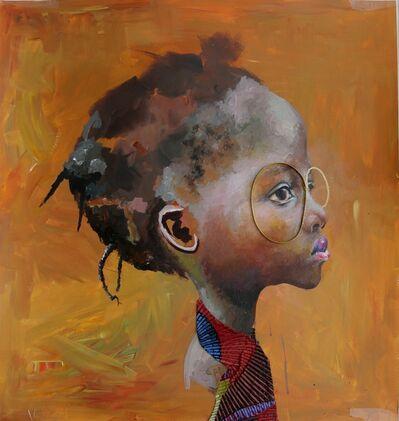 Ndidi Emefiele, 'Brown Raphsody II', 2015