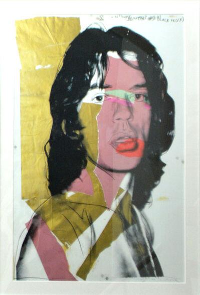 Andy Warhol, 'Mick Jagger 143', 1975